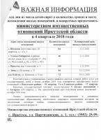 Министерство имущественных отношений Иркутской области сообщает